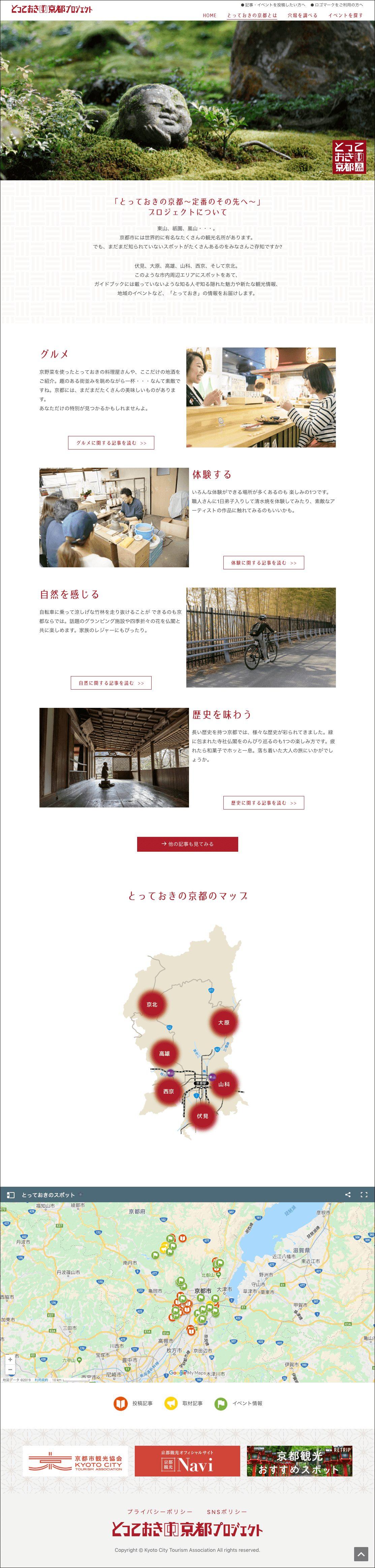 とっておきの京都プロジェクトについて